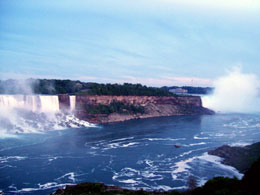 The American And Canadian Falls