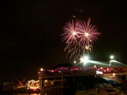 Fireworks At Dows Lake