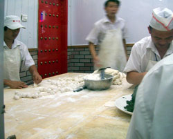 Making Baozi