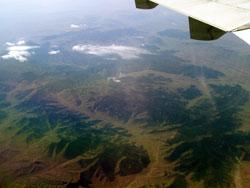 Above Mongolia
