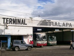 Bus Station In Santa Cruz, Costa Rica