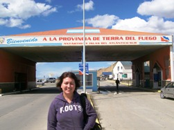 Crossing The Border Between Chile And Argentina