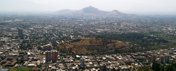 Santiago From The Hill