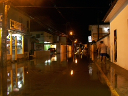 Paraty After The Flood At Night