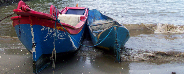 Boats On Praia Do Portal