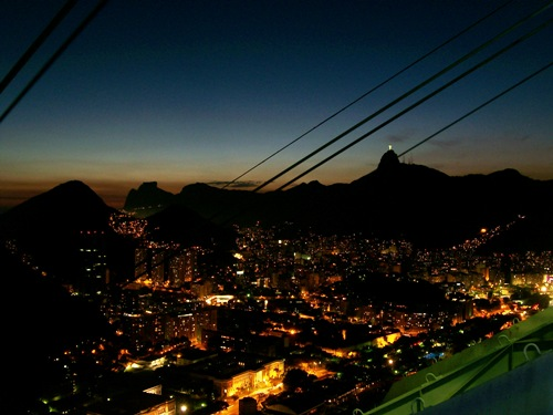 Rio By Night From The Sugar Loaf