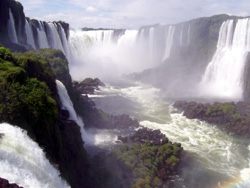 Overview Of The Many Waterfalls