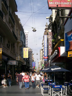 Popular Lavalle Street, Buenos Aires
