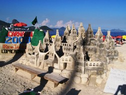 Sand Castle On Copacabana