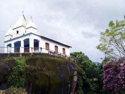 Church On Top Of The Forest