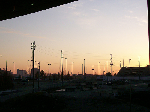 Sunrise at Toronto Airport