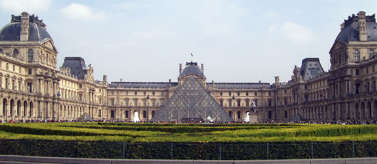 View Of Le Louvre