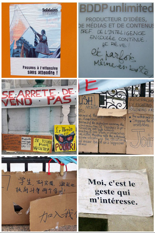 French Political Graffitis
