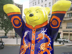 Cute (Chinese) Bear In Buenos Aires