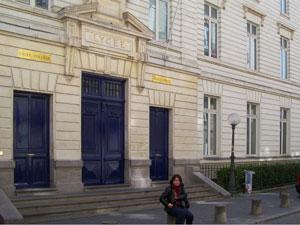 My Junior High/ High School In Nantes