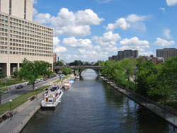 One Side Of The Rideau Canal