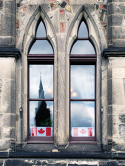 Windows of the Parliament