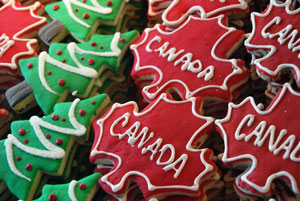 Canadian Cookies at the Byward Market
