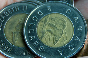 A Canadian Toonie