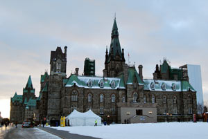 The West Block of the Parliament