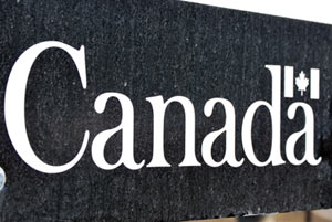 Governement of Canada Sign