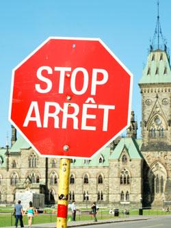 Stop/ Arrêt
