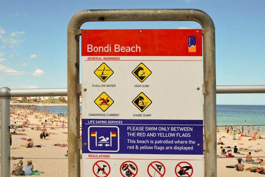 Bondi Beach Caveat