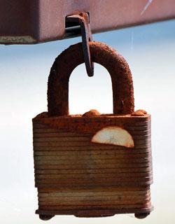 Lock in Alexandria Bay, NY State, U.S.A