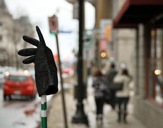 Lost Glove, Ottawa, Winter 2011
