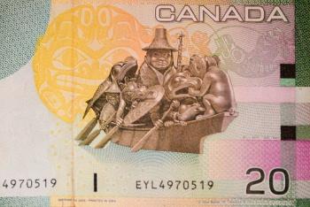 Canadian Twenty Dollars Bill