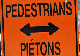 Traffic Sign, Ottawa, Summer 2011