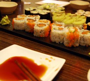 Sushi Platter at Sushi 88