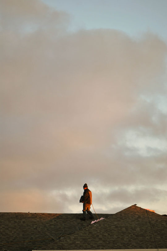 Man of the Roof, Ottawa, November 2011