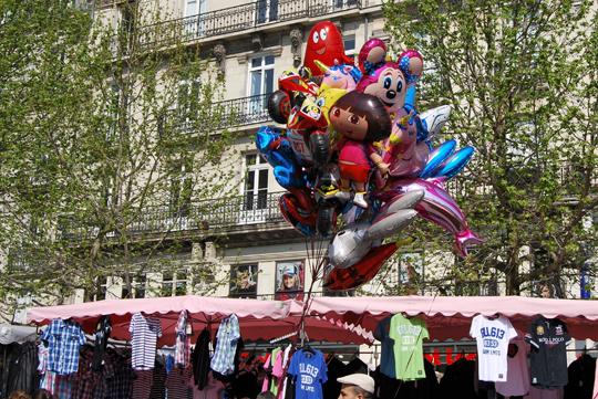 Street Market in Nantes