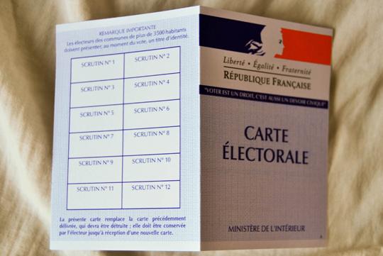 My Brand New Carte d'Électeur