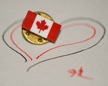 Canada + Heart =...?