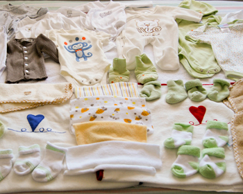 Baby Clothes on the Bed, Ottawa, September 2012