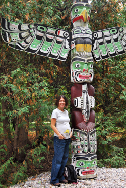 35 Weeks Pregnant, Canadian Totem, Ottawa, October 2012