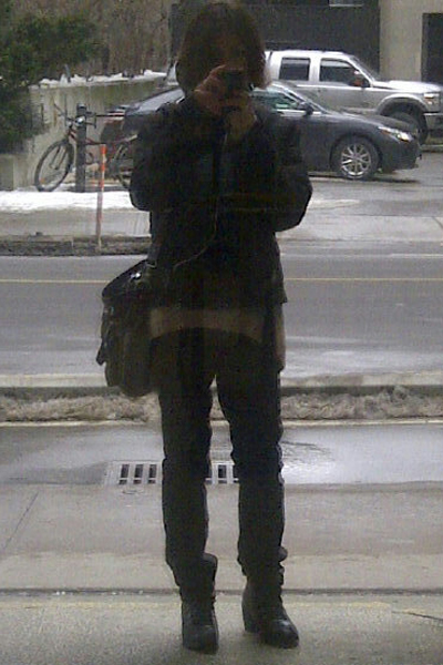 The Stupid Selfie, Ottawa, February 2013