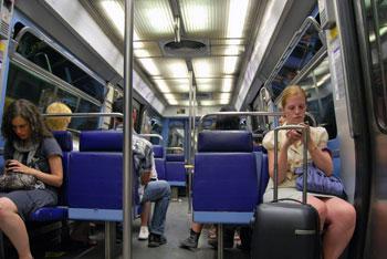 In The Subway, Paris, 2010