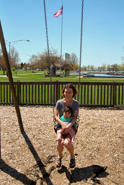 Mark in the Swing