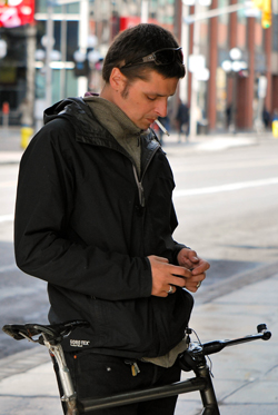 Smoking, Texting, Biking