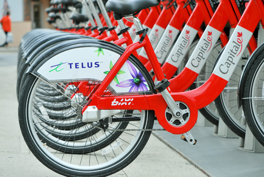 BIXI at the Byward Market, May 2013