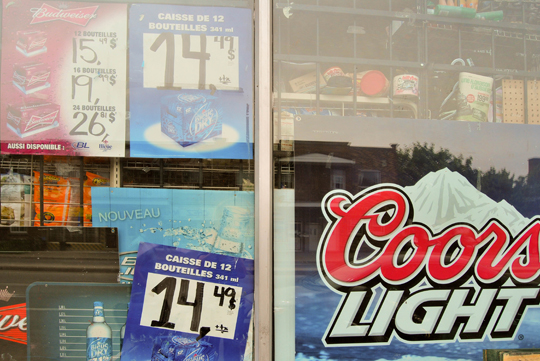 Convenience Store and Beer Ads