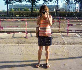 Self Portrait, Nantes, July 2013