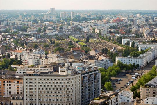 Nantes' Skyline