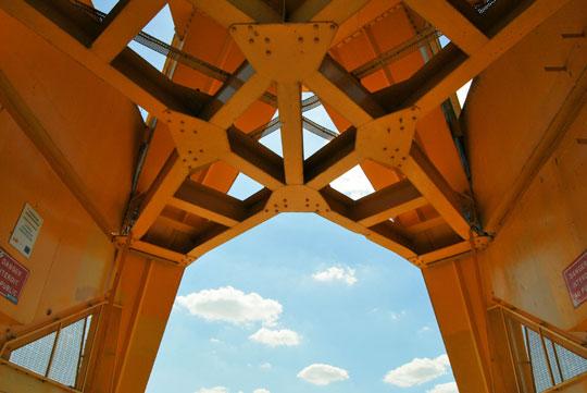 Under the Titan Crane
