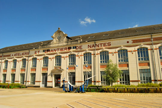 Nantes' Industrial Past