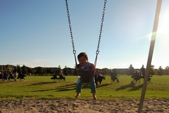 In The Swing