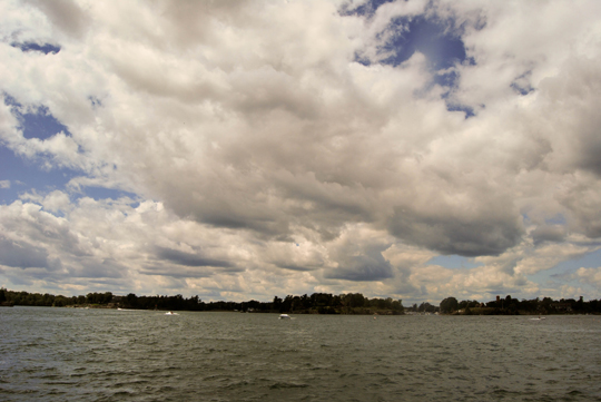Clouds Over the St Lawrence
